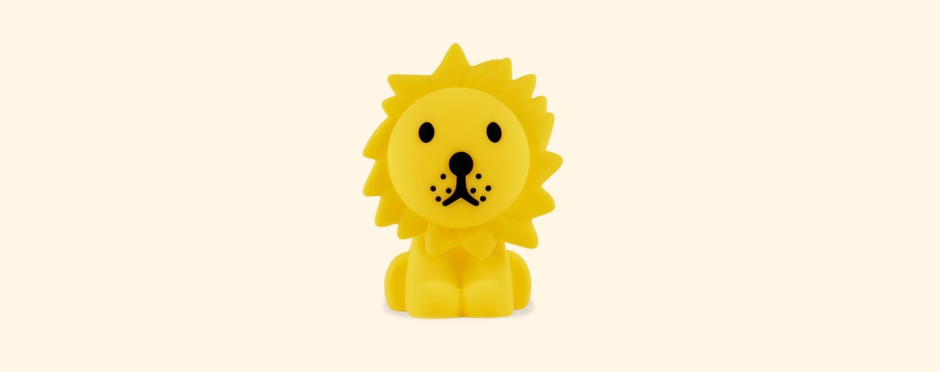 Yellow Mr Maria Lion Lamp
