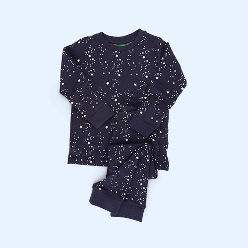 soft navy/Starry Night Little Green Radicals Pyjamas