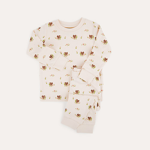 Floaral Little Green Radicals Pyjamas
