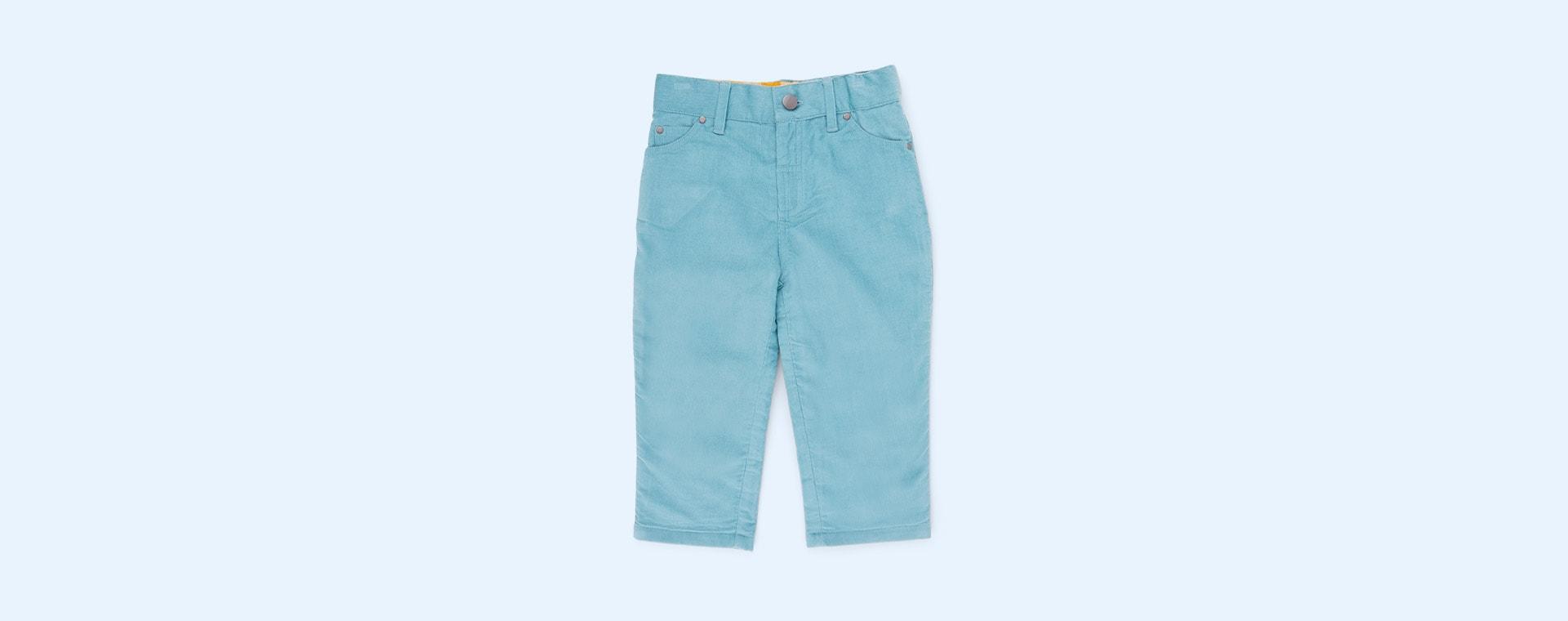 Blue Little Green Radicals Cord Adventure Jeans