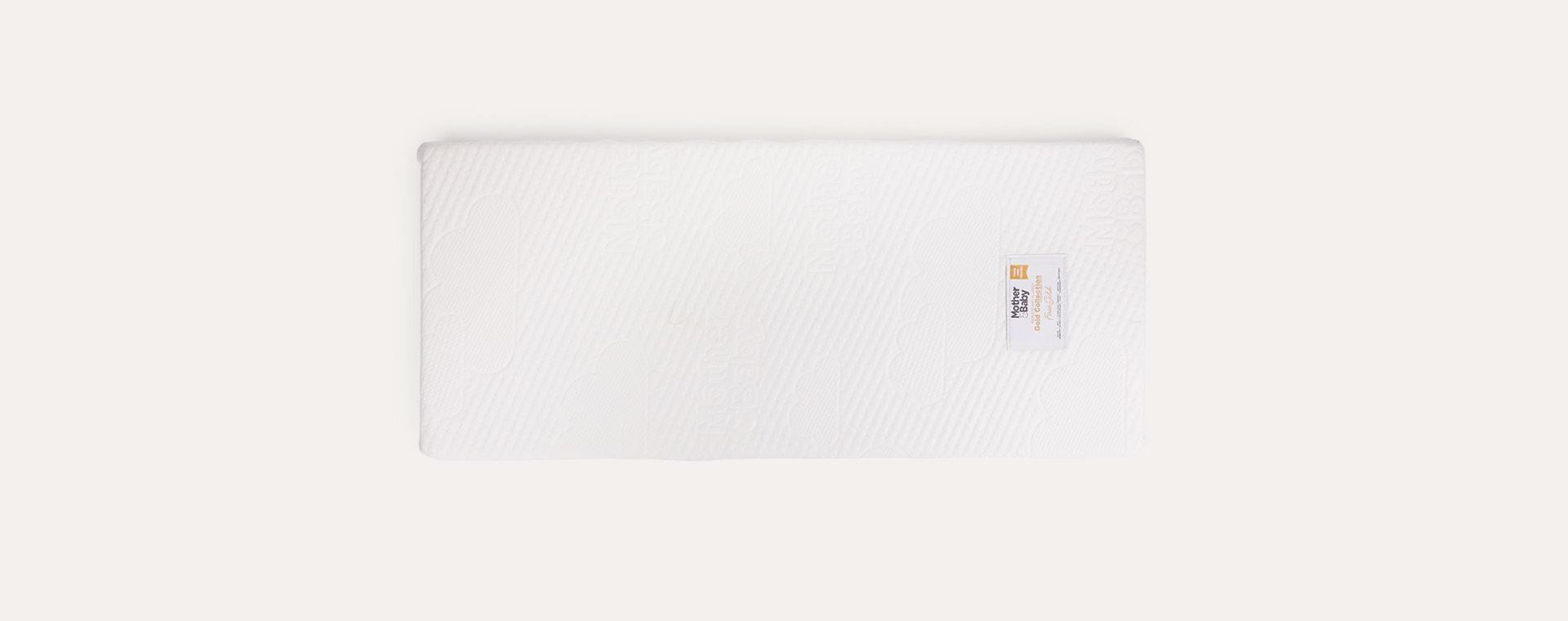 White Mother & Baby Anti-Allergy Foam Crib Mattress