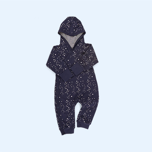Starry Night Little Green Radicals Reversible Snug As A Bug Suit