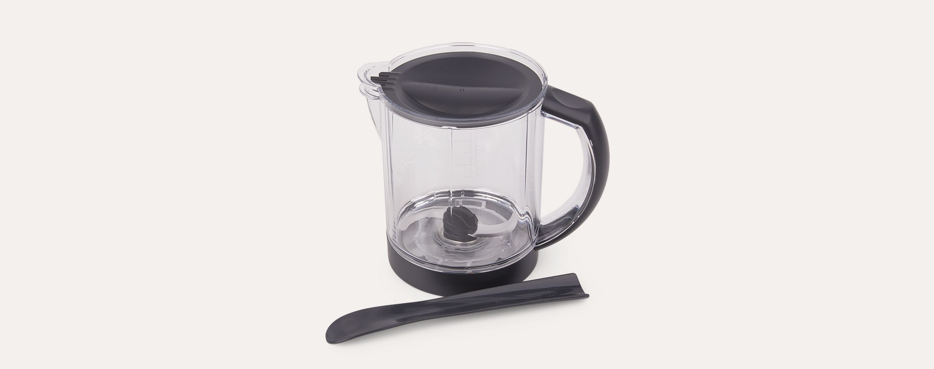 Dark Grey Beaba Babycook Solo Baby Food Steamer Blender