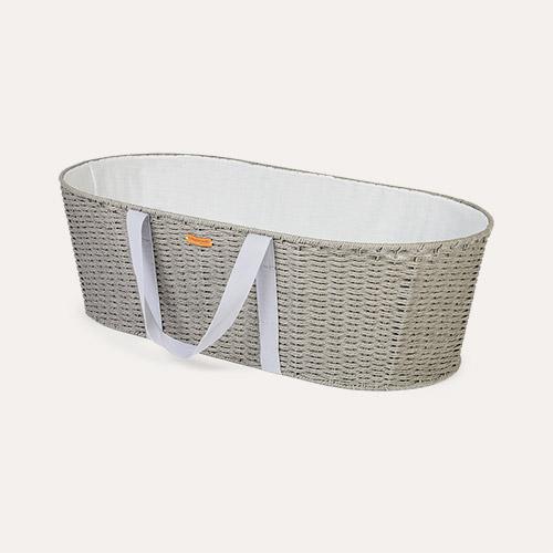 Grey Childhome Moses Basket