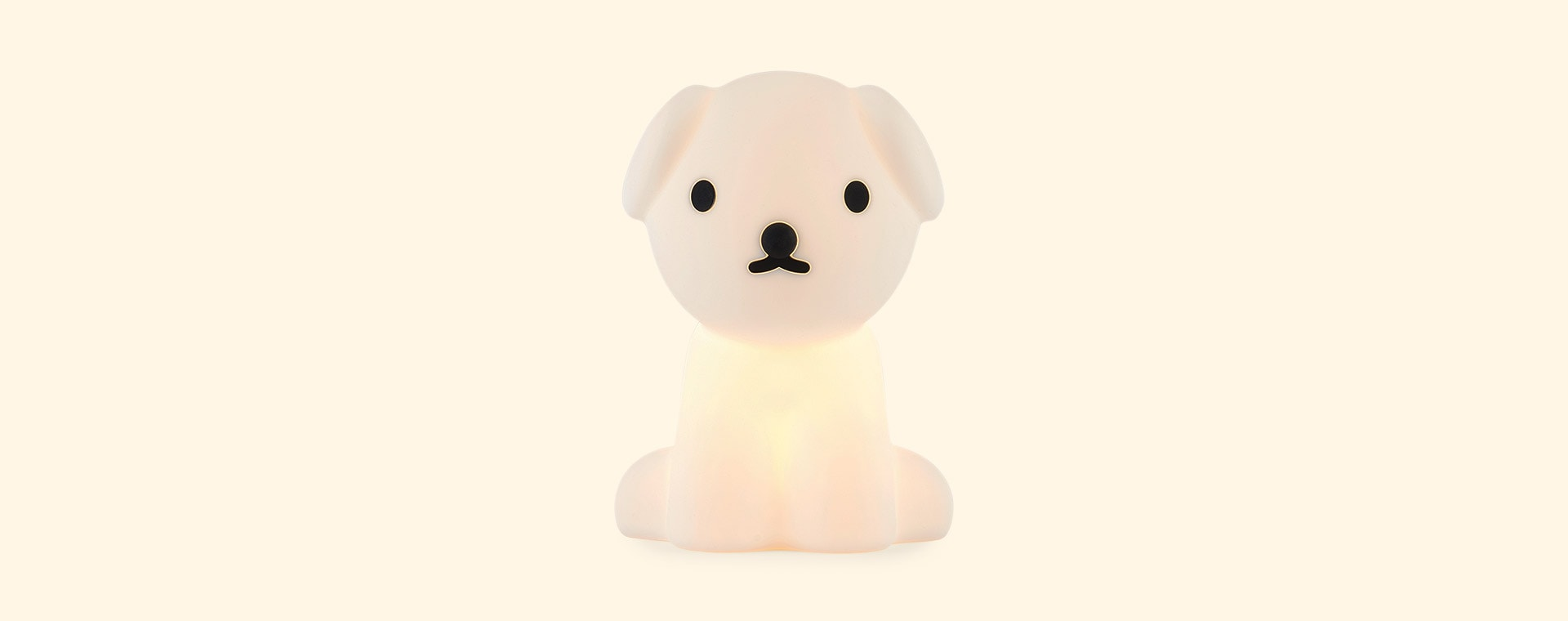 White Mr Maria Snuffy First Lamp