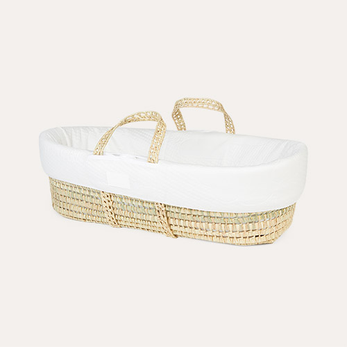 Neutral Mother & Baby Moses Basket, Cover & Mattress