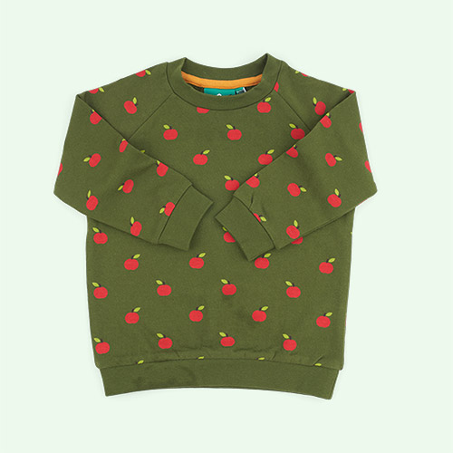Red Apples Little Green Radicals Sweatshirt