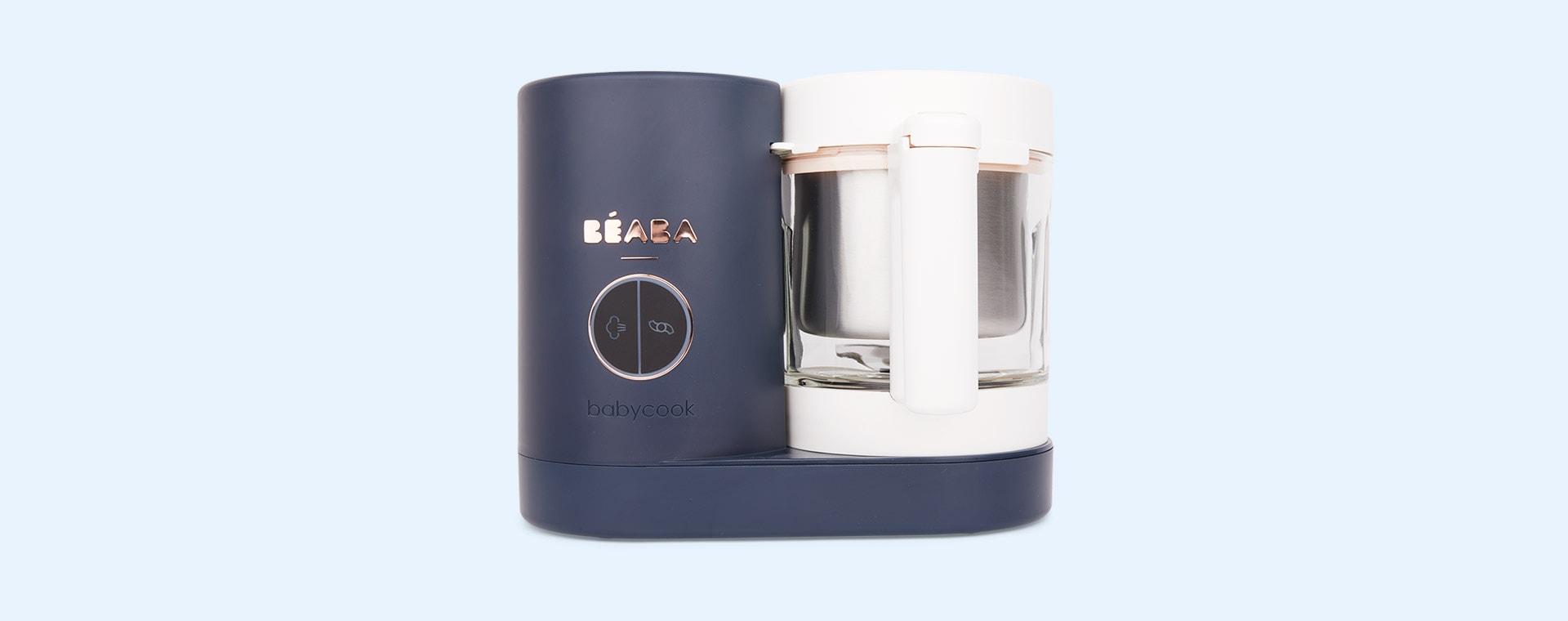 Night Blue Beaba Babycook Neo Baby Food Steamer Blender
