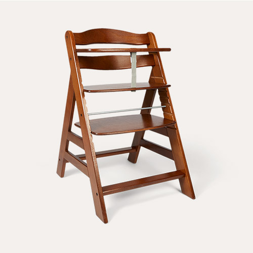 Walnut hauck Alpha+ Wooden Highchair