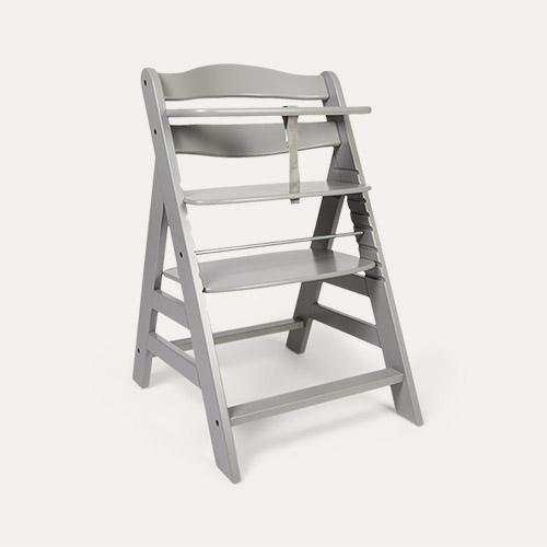 Grey hauck Alpha+ Wooden Highchair