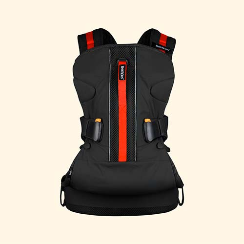 Black BabyBjorn Baby Carrier One Outdoors