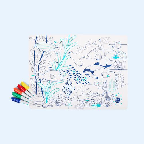 Barrier Reef Super Petit Wildlife Placemat