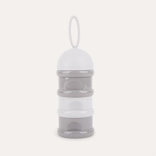 Grey/Dark Mist Beaba Snack Storage/Stacked Formula Milk Container
