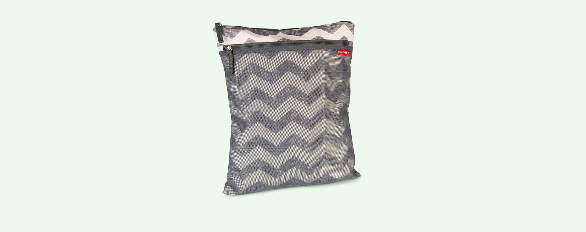Chevron Skip Hop Grab & Go Wet/ Dry Bag
