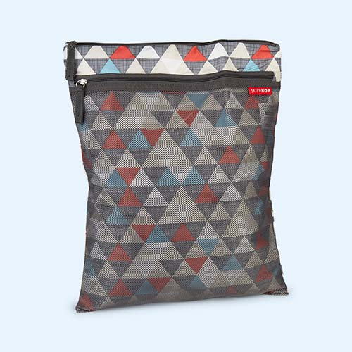 Triangles Skip Hop Grab & Go Wet/ Dry Bag