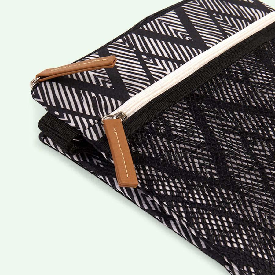 Zig Zag Zebra Skip Hop Grab & Go Wet/ Dry Bag