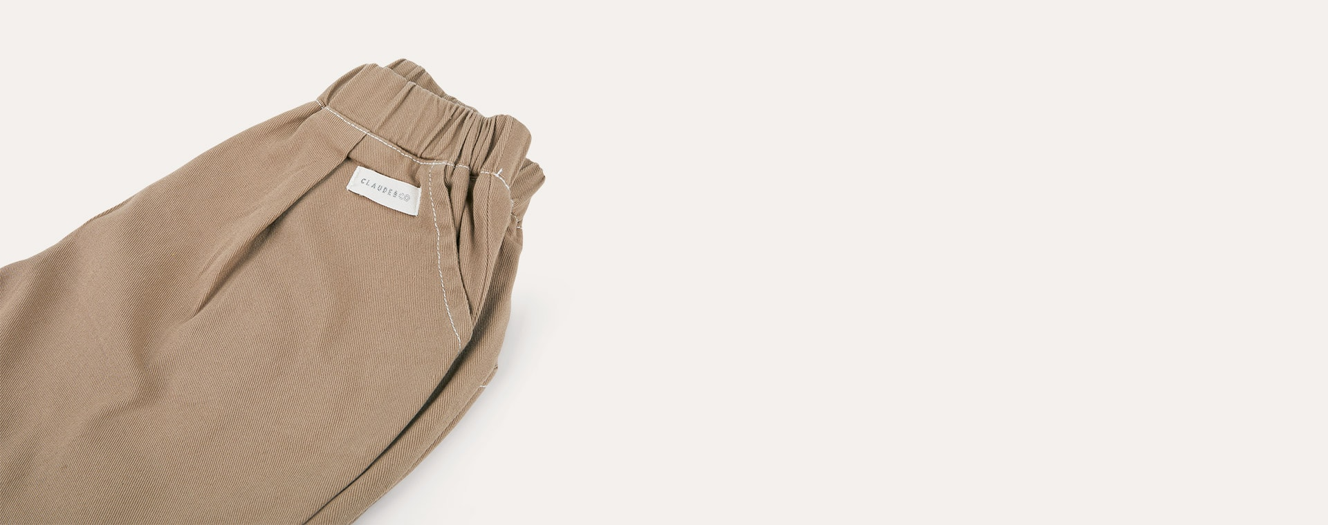 Chocolate Claude & Co Slouchy Trousers