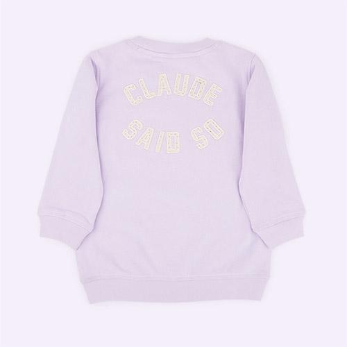 Lilac Claude & Co Sweatshirt