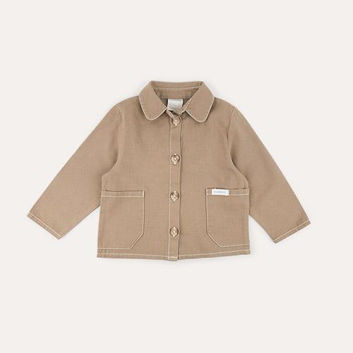 Chocolate Claude & Co Worker Jacket