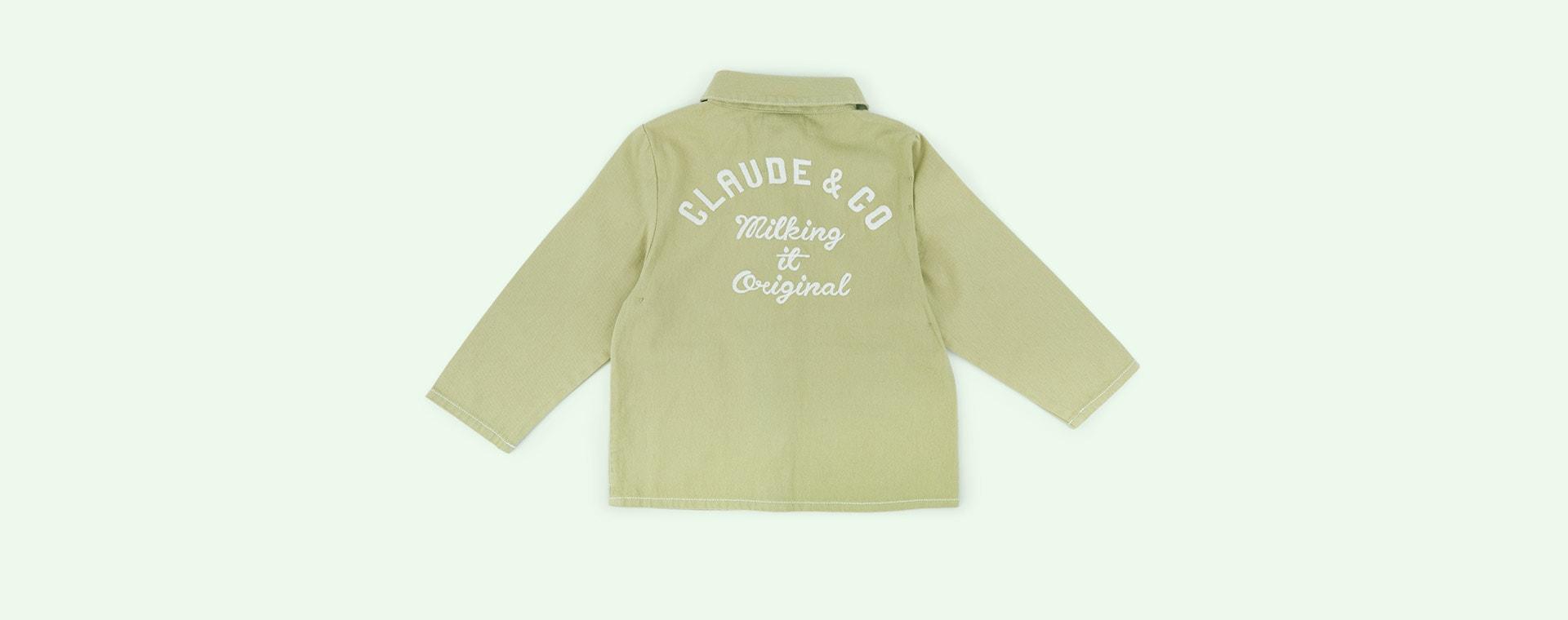 Sage Green Claude & Co Worker Jacket