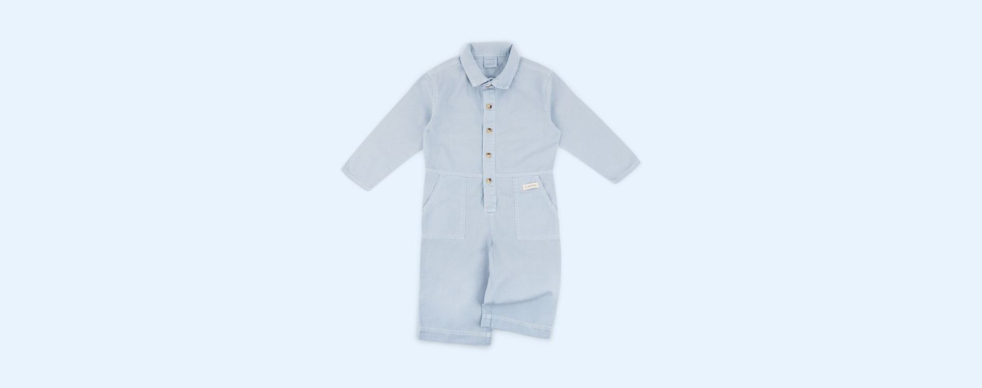 Blue Chambray Claude & Co Overalls