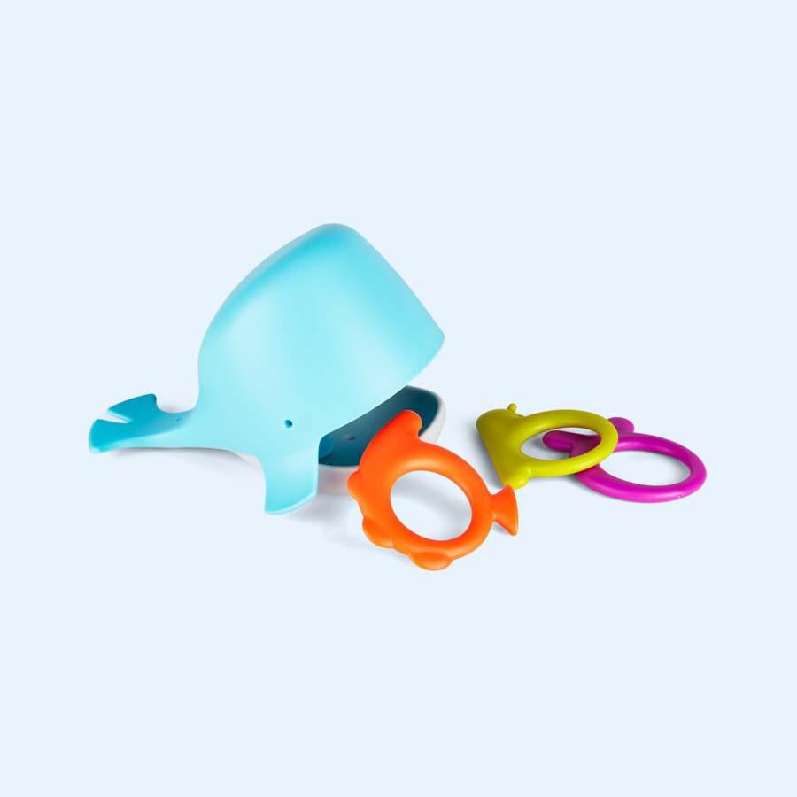 Blue Boon Chomp Hungry Whale Bath Toy