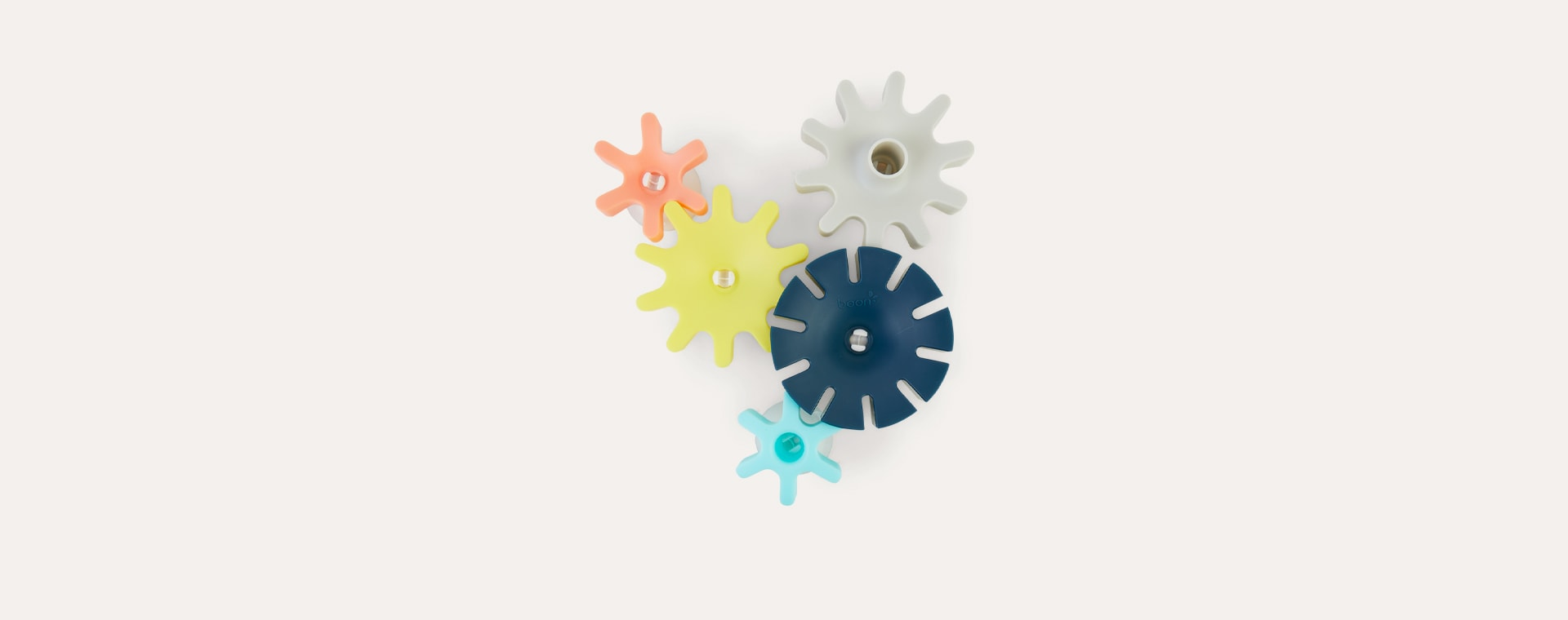 Blue Mix Boon Cogs Water Gears Bath Toy