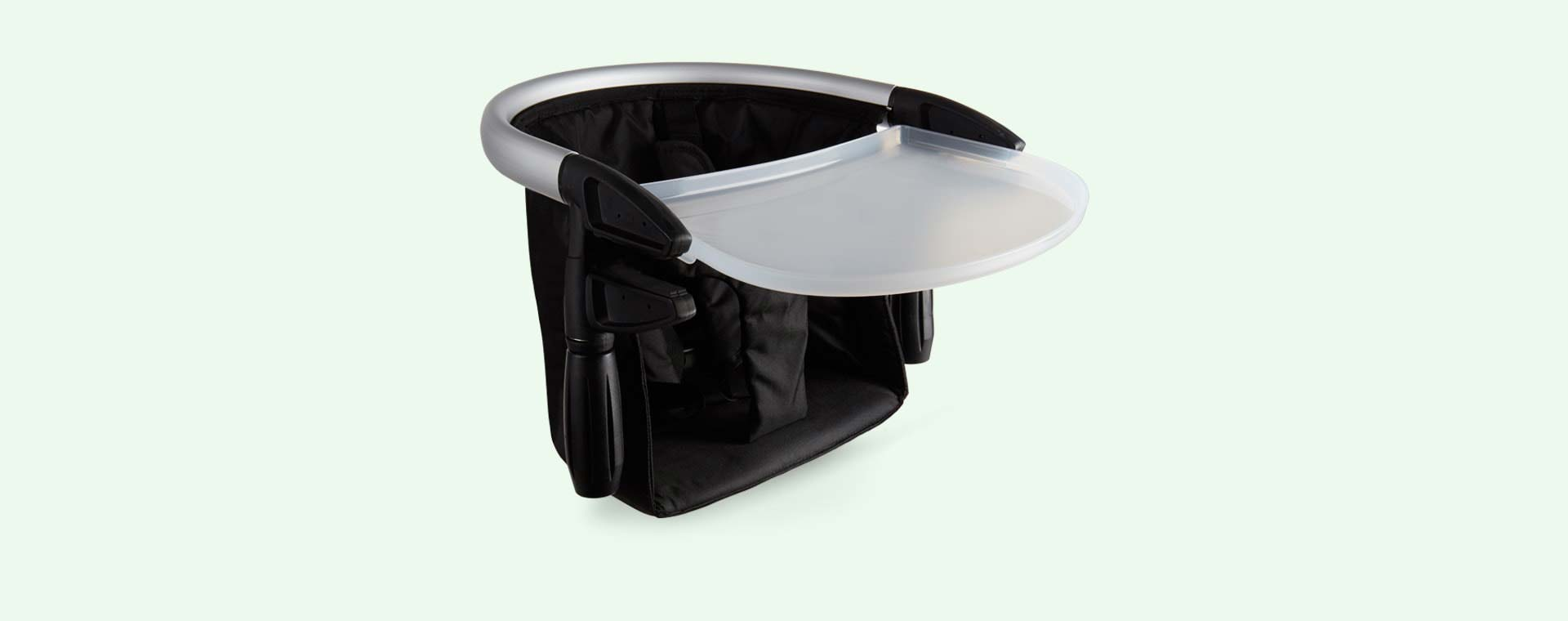 Black phil&teds Lobster Portable Highchair