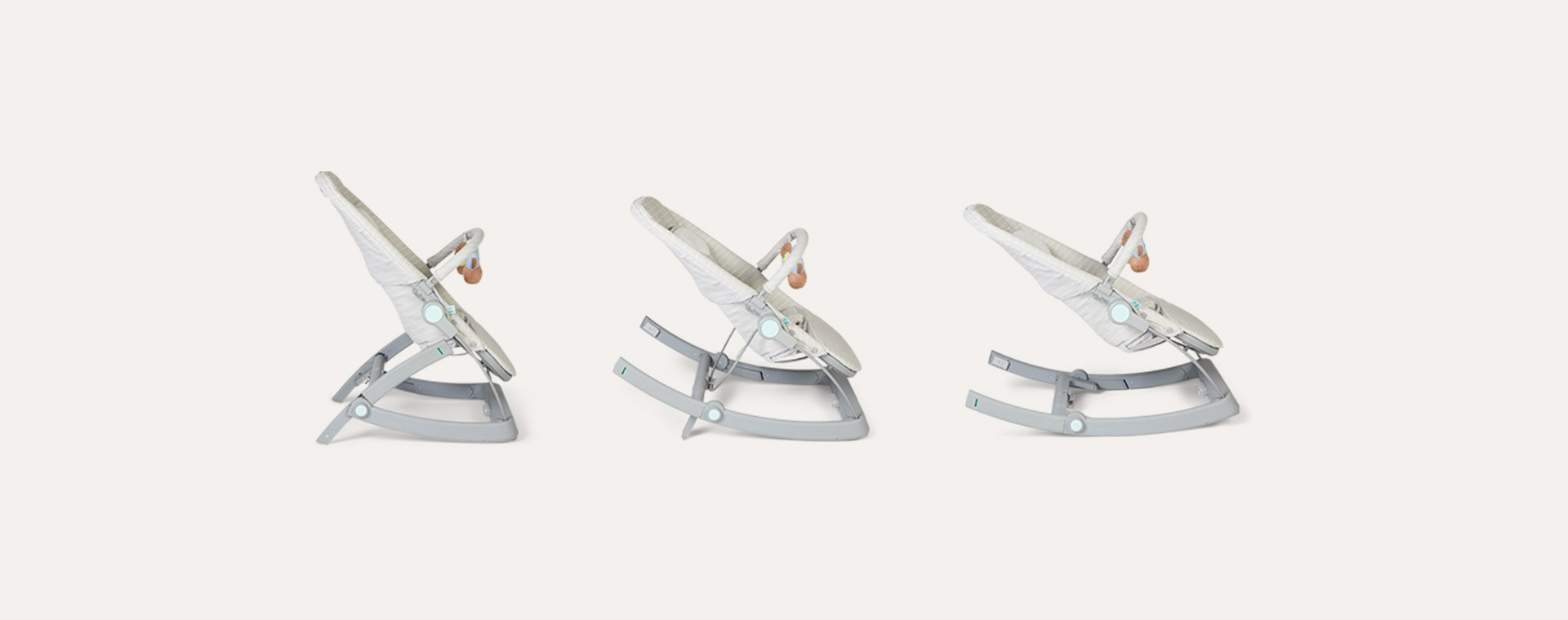 Grey aden + anais 3-in-1 Transition Seat