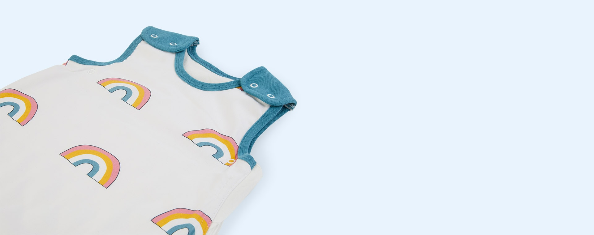 Rainbow Petrol Trim Mama Designs Babasac Multi Tog Sleeping Bag