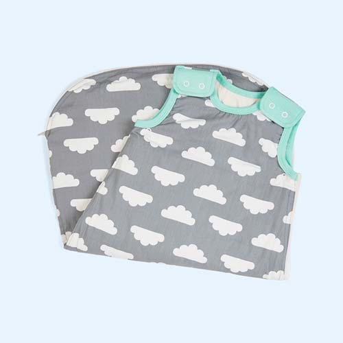 Cloud Turquoise Mama Designs Babasac Sleeping Bag