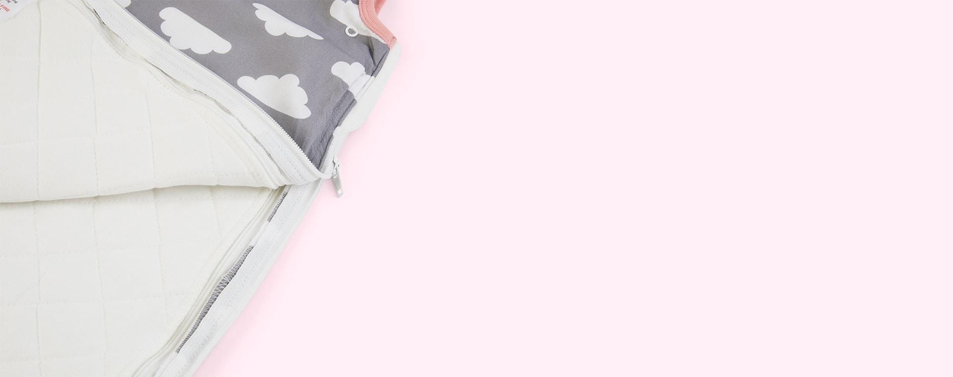 Cloud Pink Trim Mama Designs Babasac Multi Tog Sleeping Bag