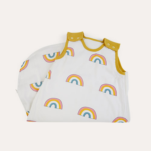 Rainbow Mustard Trim Mama Designs Babasac Multi Tog Sleeping Bag