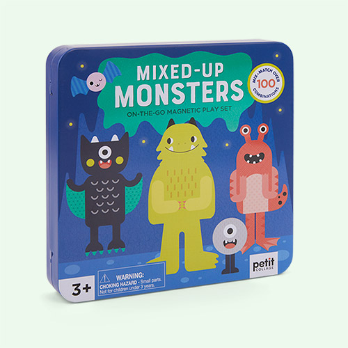 Multi Abrams & Chronicle Books Mix & Match Monsters Magnetic Play Set