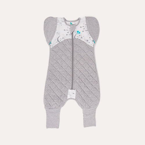 White Love To Dream Love To Swaddle UP 50/50 Transition Suit Warm 2.5 TOG