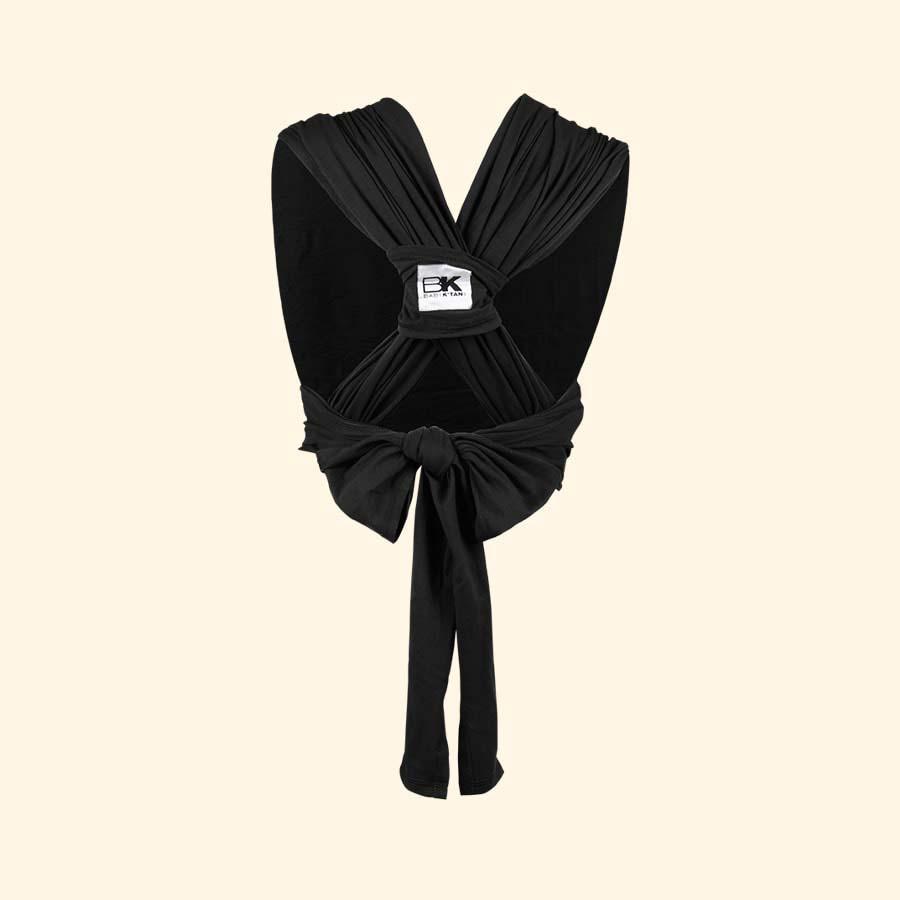 Black Baby K'tan Original Wrap Baby Carrier