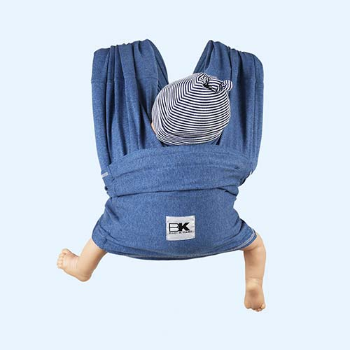 Denim Baby K'tan Original Wrap Baby Carrier