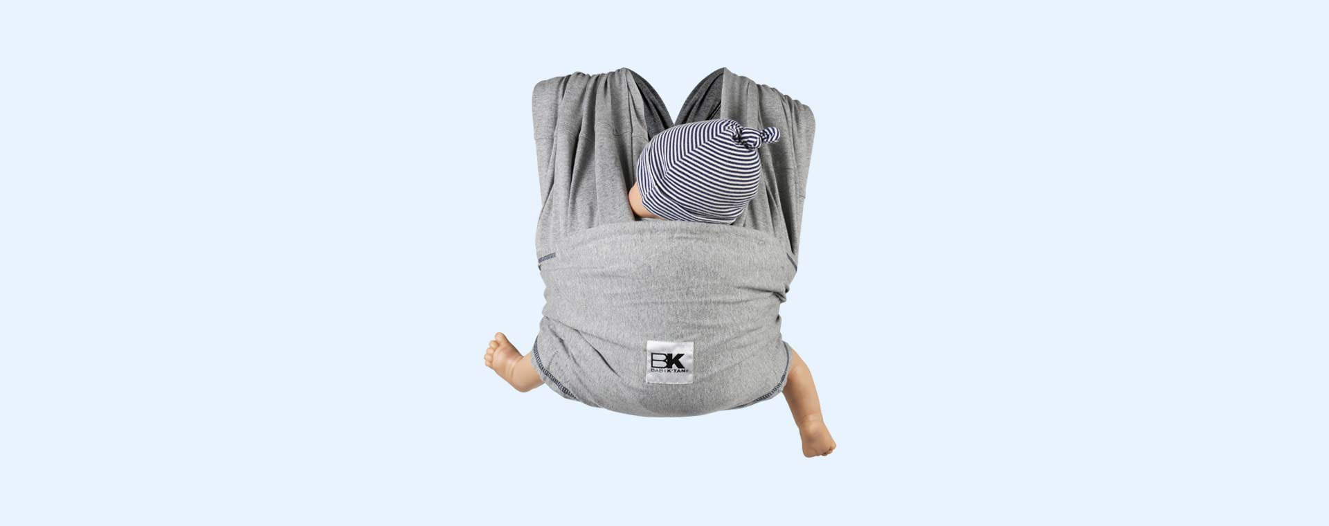Grey Baby K'tan Original Wrap Baby Carrier
