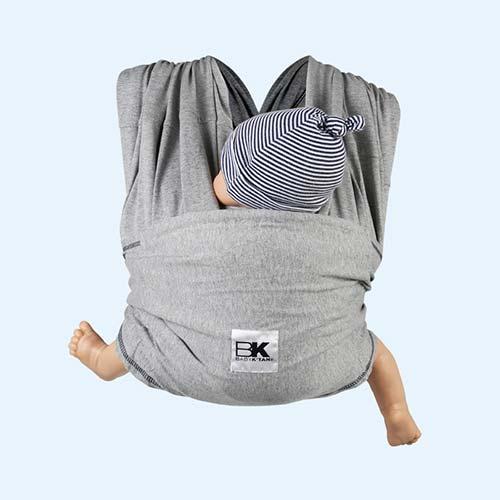 Grey Baby K'tan Original Wrap Baby Carrier