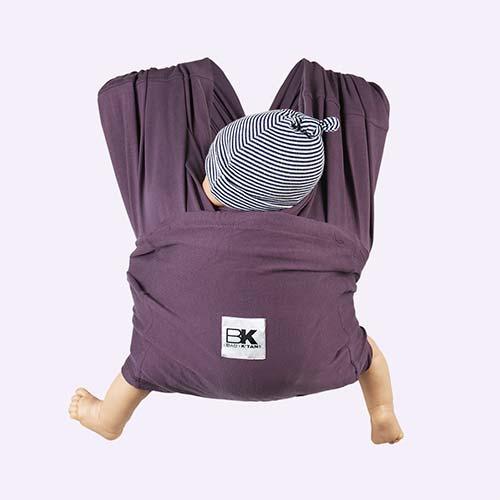 Eggplant Baby K'tan Original Wrap Baby Carrier