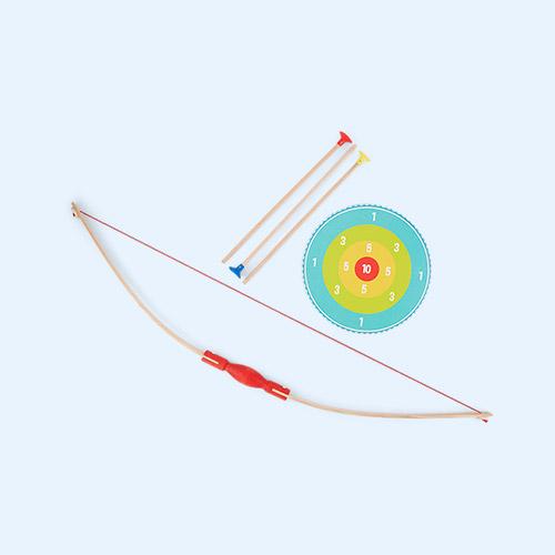 Multi Vilac Bow, Arrows & Target Kit