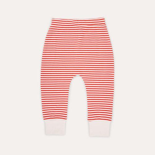 Red Stripe Little Green Radicals Wiggle Bottoms