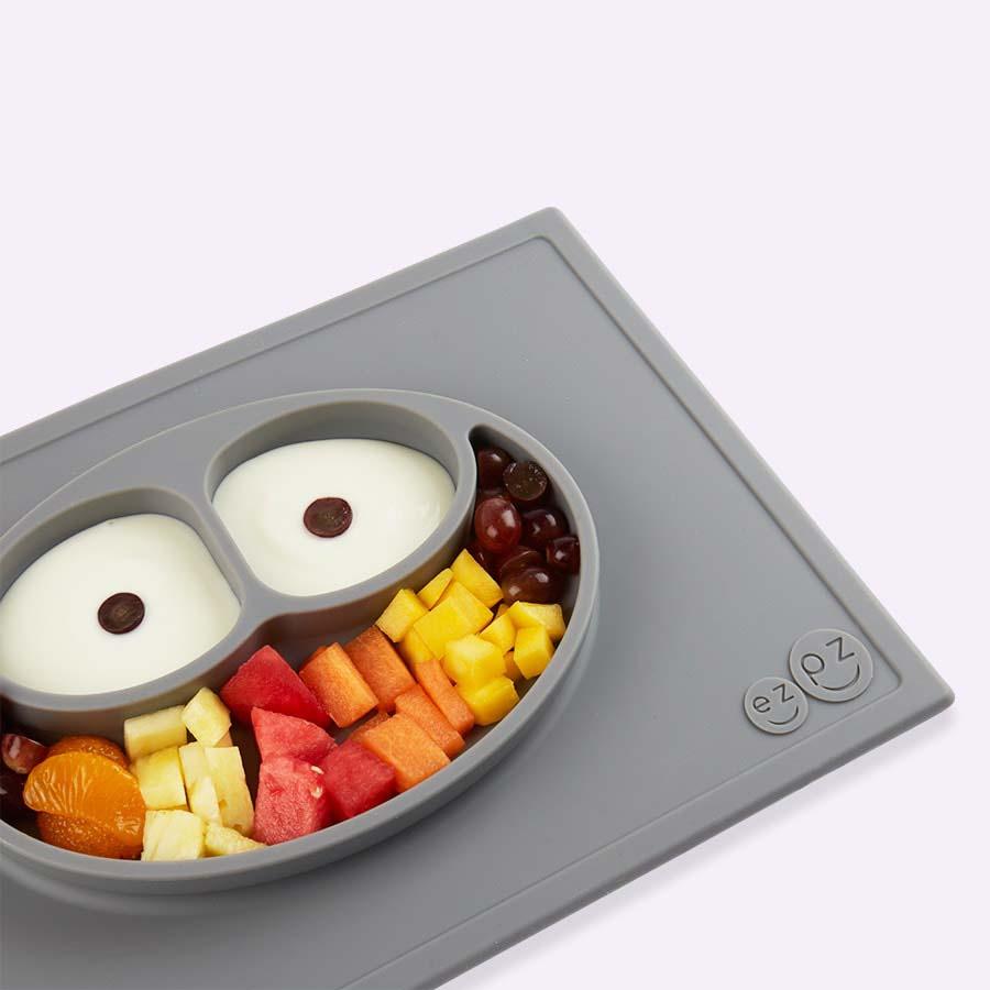 Grey EZPZ Happy Mat