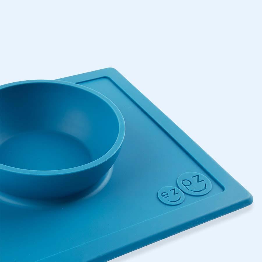 Blue EZPZ Happy Bowl
