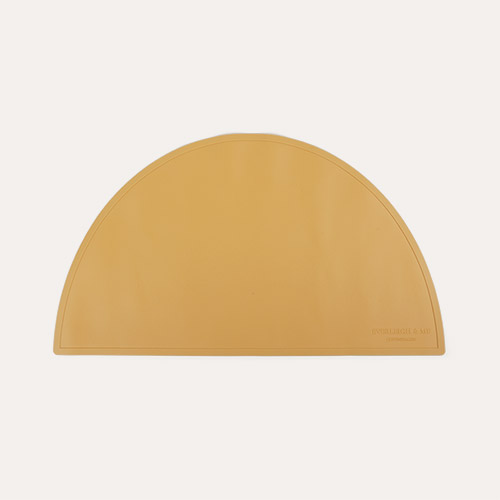 Mustard Everleigh and Me Placemat