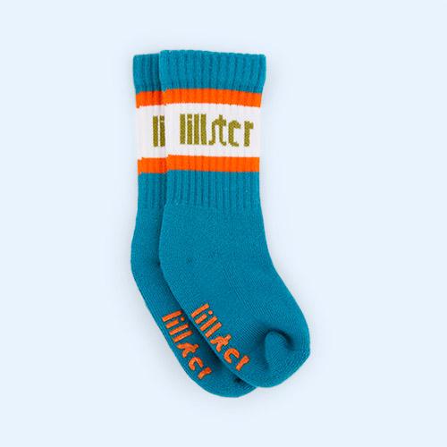 Petrol/River Lillster Socks