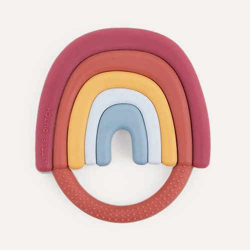 Multi Little Dutch Silicone Rainbow Teether