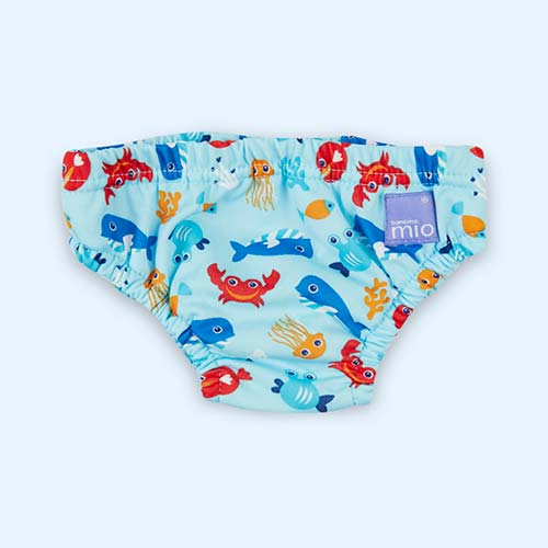 Deep Blue Sea Bambino Mio Swim Nappy