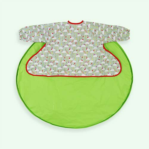 Green Tidy Tot Bib and Tray Kit