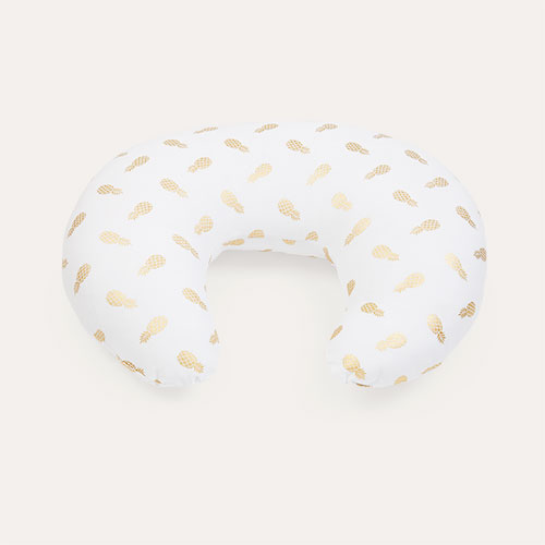 Gold Pineapple Widgey Feeding Nursing Pillow